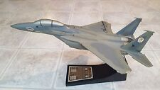 Chuck Yeager USAF F-15 Air Superiority Fighter Pilot Eagle Jet Desk Model 1:48