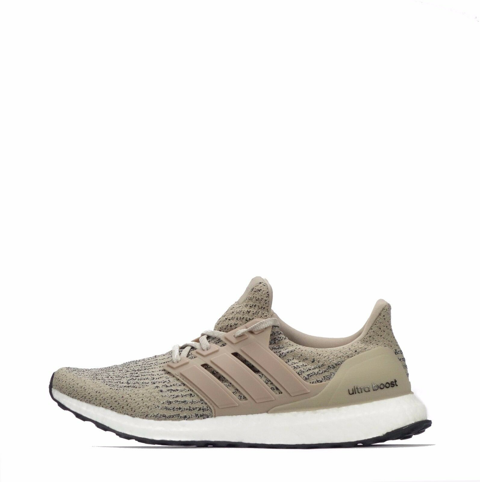 adidas Ultra Boost Men's Running Lace Up Schuhes Trace Khaki/Braun