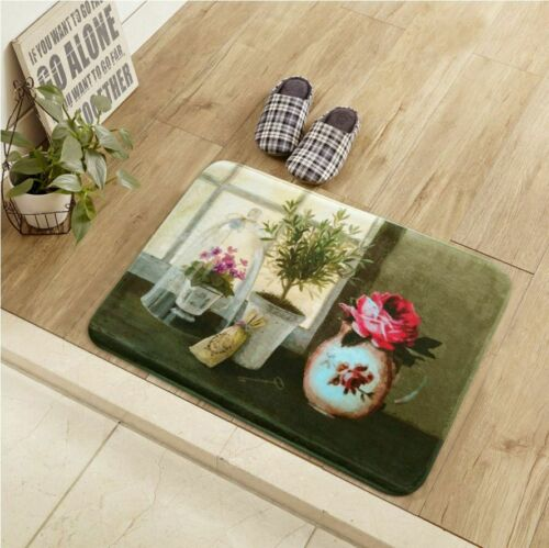 Non-slip Door Mat Durable Floor Carpet And Rugs For Home Bathroom Kitchen Decors