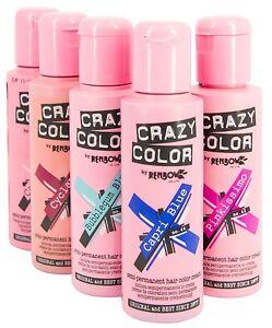 crazy color coloration semi permanente pour cheveux 100ml - Coloration Semi Permanente