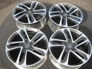 SET NEW TAKE OFF FACTORY ACURA MDX HONDA PILOT TL OEM - Acura tl oem wheels