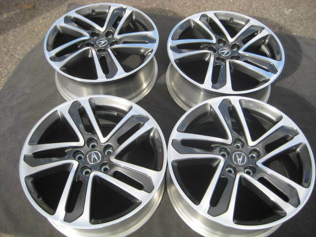 Set Take Off Factory Acura MDX Honda Pilot TL OEM Wheels - Acura oem wheels