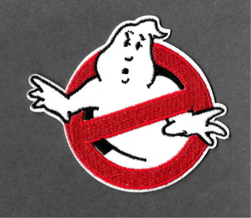 Ghostbusters Embroidered Iron On Applique Patch Movie Ghost Crafts