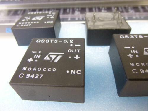 1 Stück 1 piece GS3T5-5.2 DC-DC 3W MODULE for ECL IN 5V  Vout isolated 5,2V