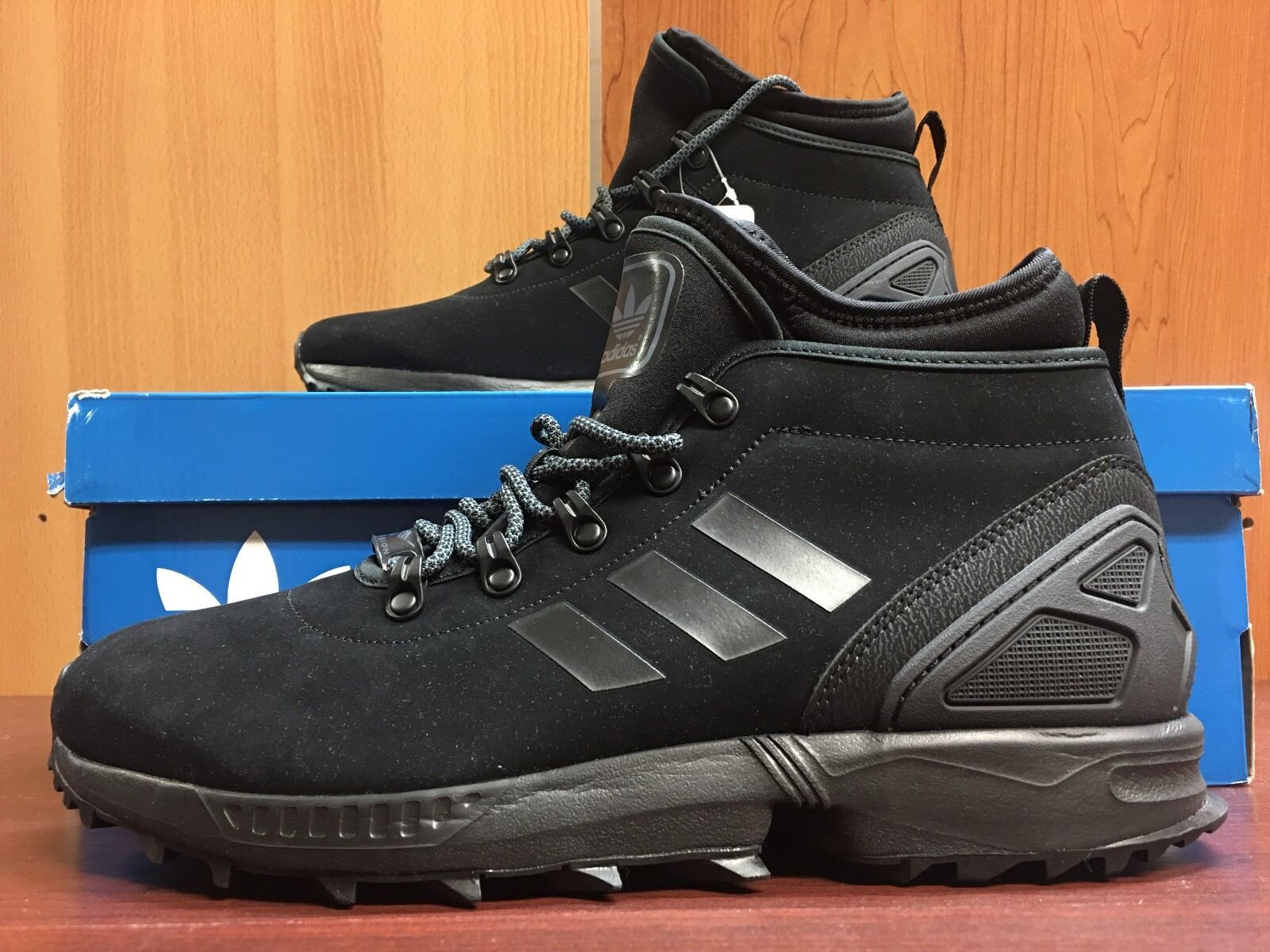 Adidas zx flujo botas de invierno para los hombres original de negro con caja original hombres de reducción de precio 4241ed