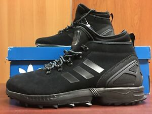 Details about Adidas ZX Flux Winter Boots For Men In Black with Original Box (84 33)