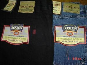 MENS-NEW-BOSTON-STRONG-TOUGH-WORK-CASUAL-WORK-JEANS-BIG-40-INCH-WAIST-FULL-FIT