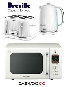 Image Is Loading Breville Impressions White Kettle And Toaster Set Amp