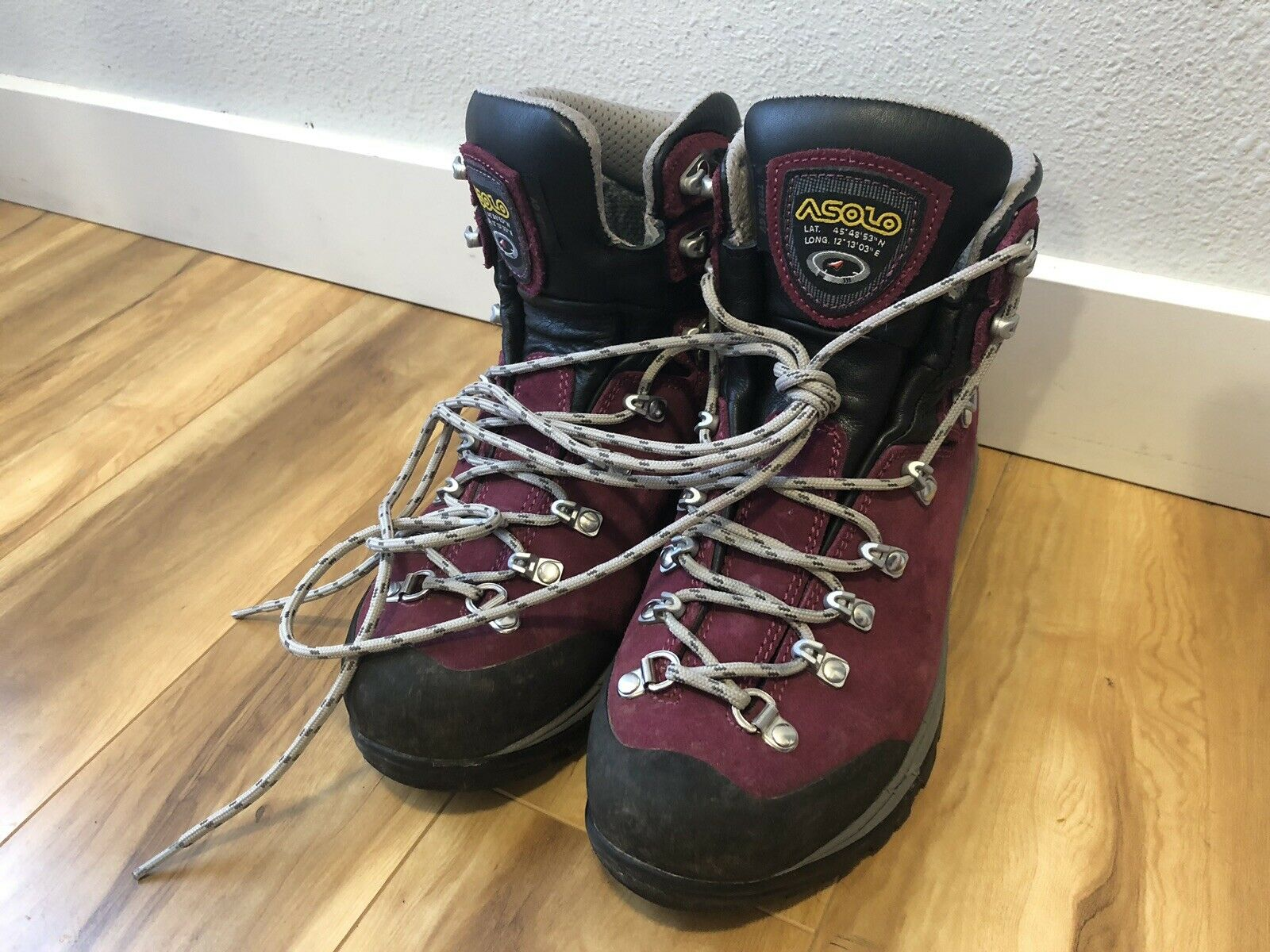Asolo Tribe GV Hiking Boots - Women's Size 7 Goretex Waterproof