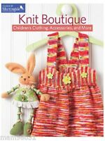 Knitting Pattern Book Knit Boutique Children's Clothing, Accessories & +