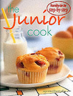 """1 of 1 - """"VERY GOOD"""" Junior Cook (""""Family Circle"""" Step-by-step), Family Circle, Book"""