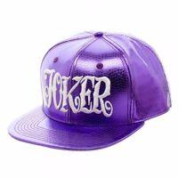 Suicide Squad Joker Purple Croc Snapback Hat on sale