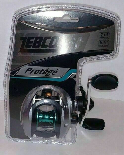 Zebco Protege Right Handed Bait Casting Reel ~ NEW SEALED