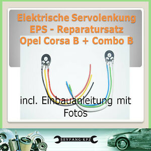 PREMIUM-Juego-de-reparacion-Eps-DIRECCIoN-ASISTIDA-Opel-Corsa-B-COMBO-TIGRA