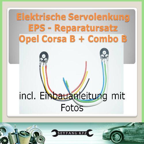directivo servo sensor reparación Opel Corsa B dirección asistida EPS reparac