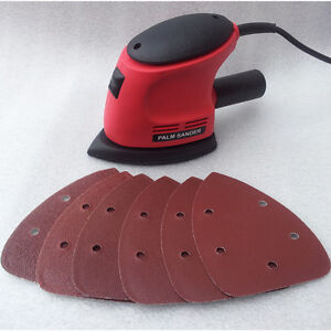 HEAVY-DUTY-135W-DETAIL-PALM-CORNER-MOUSE-HAND-SANDER-SANDING-TOOL-amp-SHEET