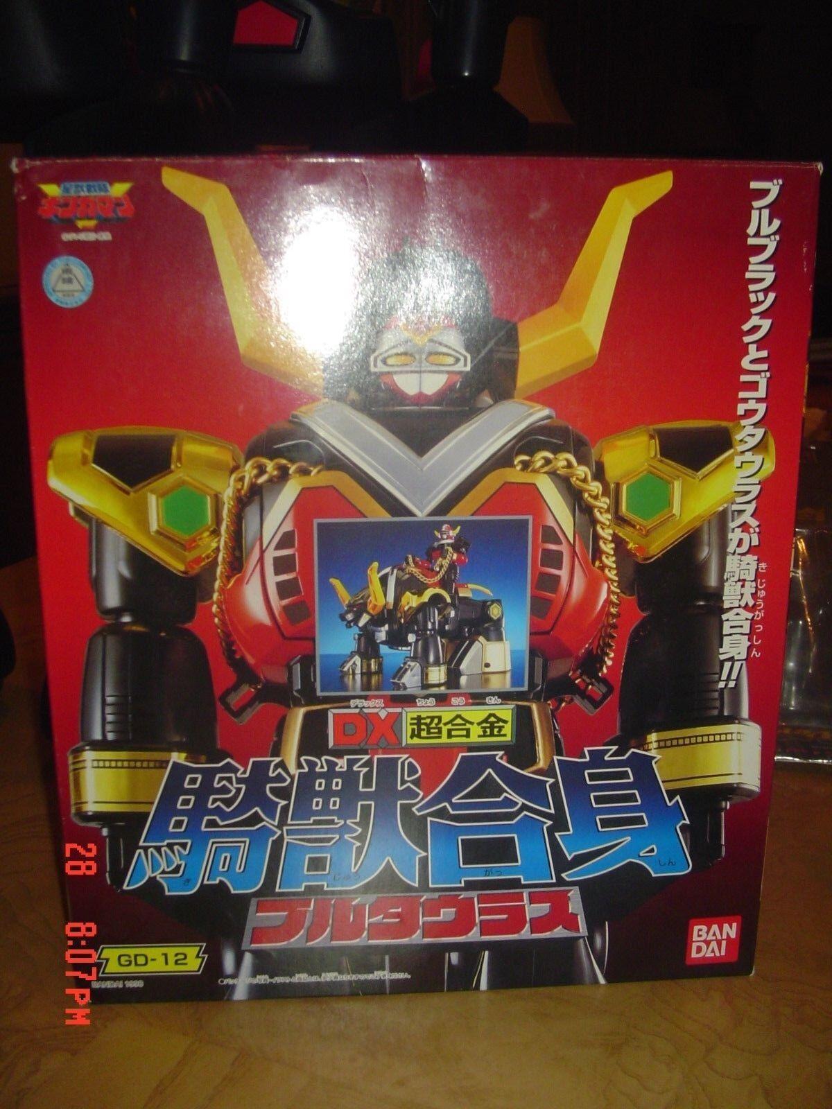 HTF JAPAN Power Rangers Lost Galaxy Deluxe Defender Torozord Megazord JAPAN MIS\