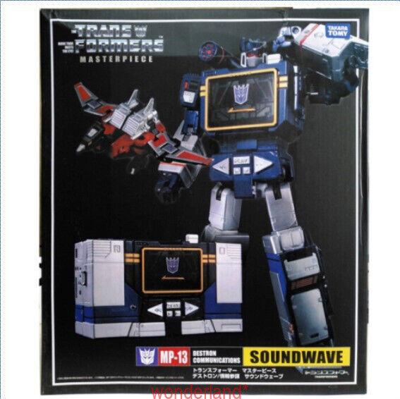 En Stock Transformers Masterpiece MP-13 Soundwave Destron comunicación Ko ver