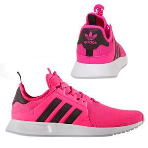 d98851463af Adidas Originals X PLR Mens Trainers Lace Up Shoes Pink Mesh BB1108 ...