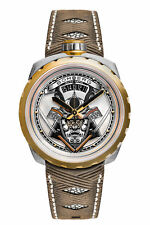 Bomberg BS45ASPG.042-2.3 Men's Samurai Gold Swiss Automatic 45mm Watch