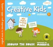 Music for Creative Kids, Vol. 1: Around the House by Maggie G. (CD, Jul-2010,...