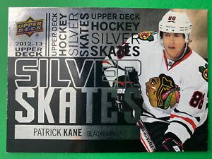 2012-13 Upper Deck SR1 Silver Skates #SS9 Patrick Kane Chicago Blackhawks