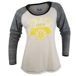 NWT Touch By Alyssa Milano Womens NHL Boston Bruins Shirt Medium ... 34cdb87f9