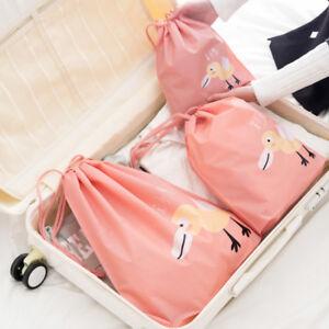 Traveling-Storage-Waterproof-Bag-Clothing-Shoes-Packing-Cube-Luggage-Organizer