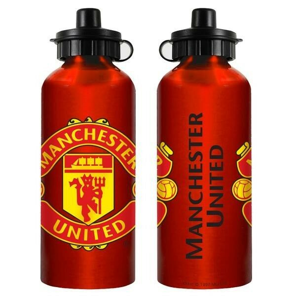 85790 MANCHESTER UNITED FC ENGLISH PREMIER LEAGUE SOCCER ALUMINIUM DRINK BOTTLE