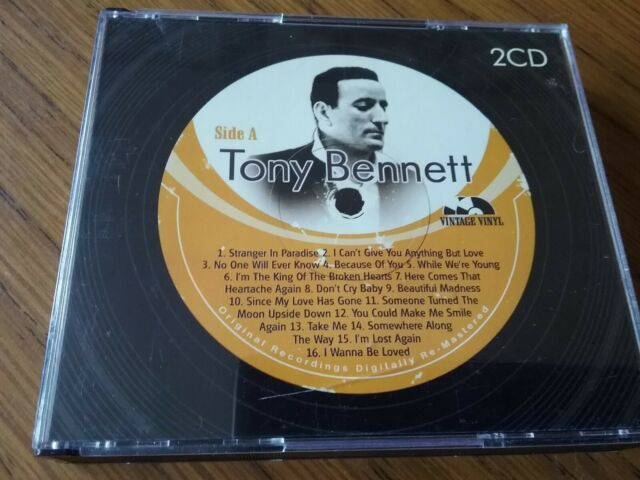 Tony Bennett  (Vintage Vinyl) CD   (2006) 32 Tracks  Digitally Remastered