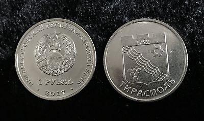 """TRANSNISTRIA 1 RUBLE 2016 ZODIAC /""""SCORPIO/"""" COIN UNC"""