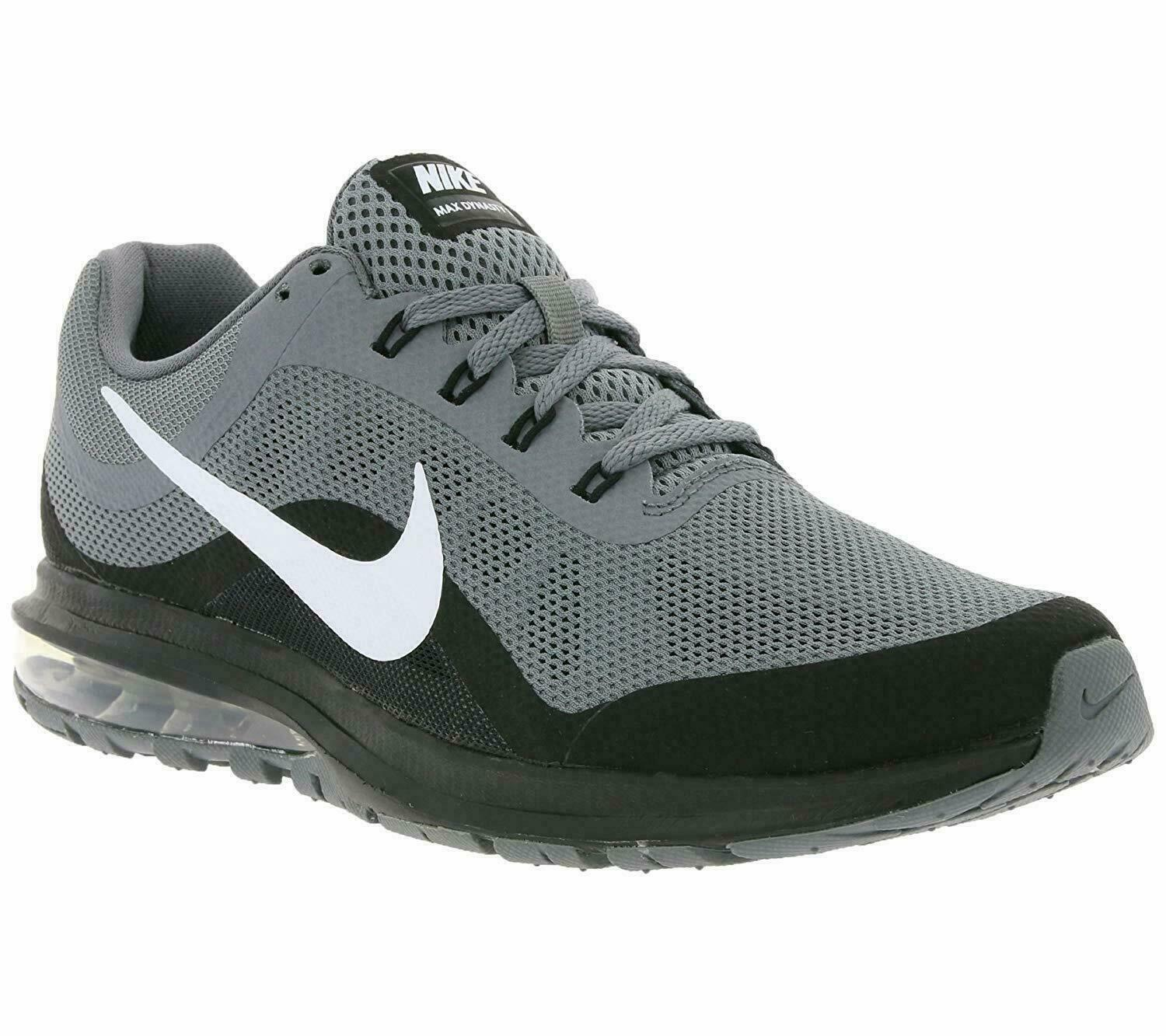 Nike Men's Air Max Dynasty 2 Running shoes Black Grey 852430-006 Size 9 - 11