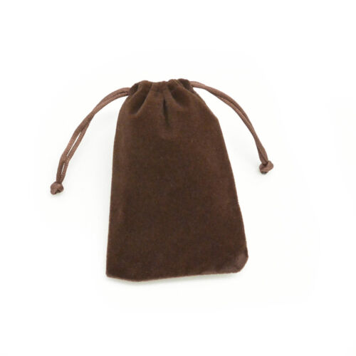 """2 1//2/""""x3 5//8/"""" Velvet Bags Jewelry Wedding Party Favor Gift Drawstring Pouch"""