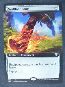 Swiftfoot Boots Extended Art - Mtg Magic Cards #LF