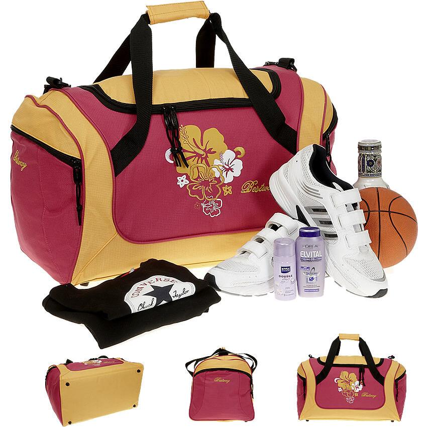 Sporttasche BESTWAY FLOWER 50 Sport Tasche Reisetasche Fitness Studio Bag orange