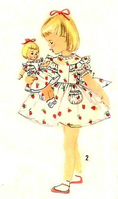 "VINTAGE 15"" and  18"" sz FOR SWEET SUE, BINNIE DOLL CLOTHES PATTERN 1827"
