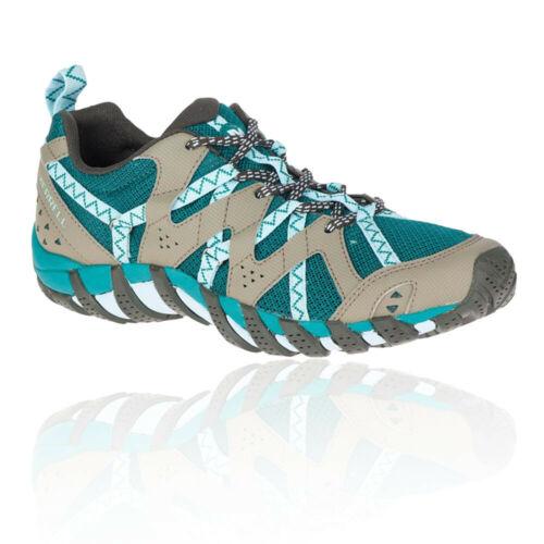 Merrell Femme Waterpro Maipo 2 Chaussures De Marche Bleu Vert Gris Sports Outdoors