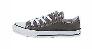 Converse-Chuck-Taylor-All-Star-Low-Top-Kids-Size-Boys-Shoes-Charcoal-Gray
