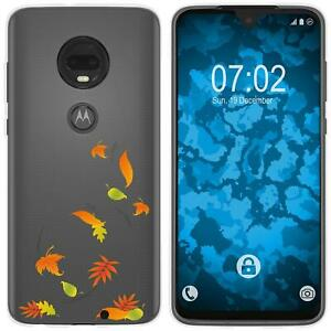 Motorola-Moto-G7-Plus-Coque-en-Silicone-automne-M1-Case-films-de-protection