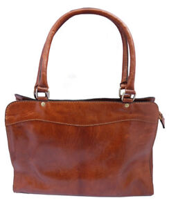 Genuine-Leather-Handmade-Zipped-Top-Smart-Bag-in-Tan-and-Brown