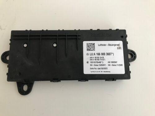 MERCEDES W166 PNEUMATIC SUSPENSION CONTROL MODULE ECU A1669003607