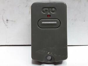 GTO-single-button-Garage-Door-amp-gate-remote-opener-fob-N9KSMARTECD0201TX