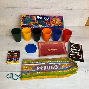 PERUDO-THE-SOUTH-AMERICAN-LIAR-DICE-PAUL-LAMOND-GAMES-C-1998-COMPLETE