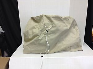 Frontgate Outdoor Yard Patio Firepit Furniture Cover Bag Natural