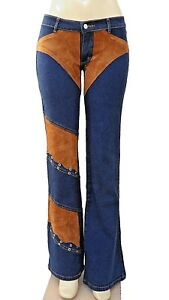 BRAZILIAN STRETCH JEANS WITH DETAILS ON LEG