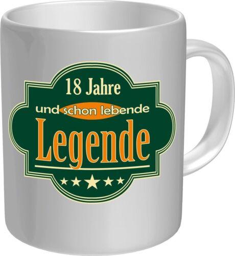 2 X Tasse 18 ans et déjà une légende Machine Café majeure