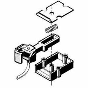 Kadee #830 Straight Centerset Shank Coupler & Body Mount Gear Box (1 pair)