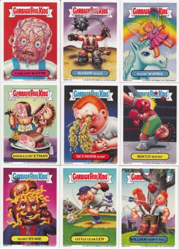 2006 TOPPS GARBAGE PAIL KIDS ANS 5 COMPLETE MAGNET SET 99 RARE GPK INSERT 1ST