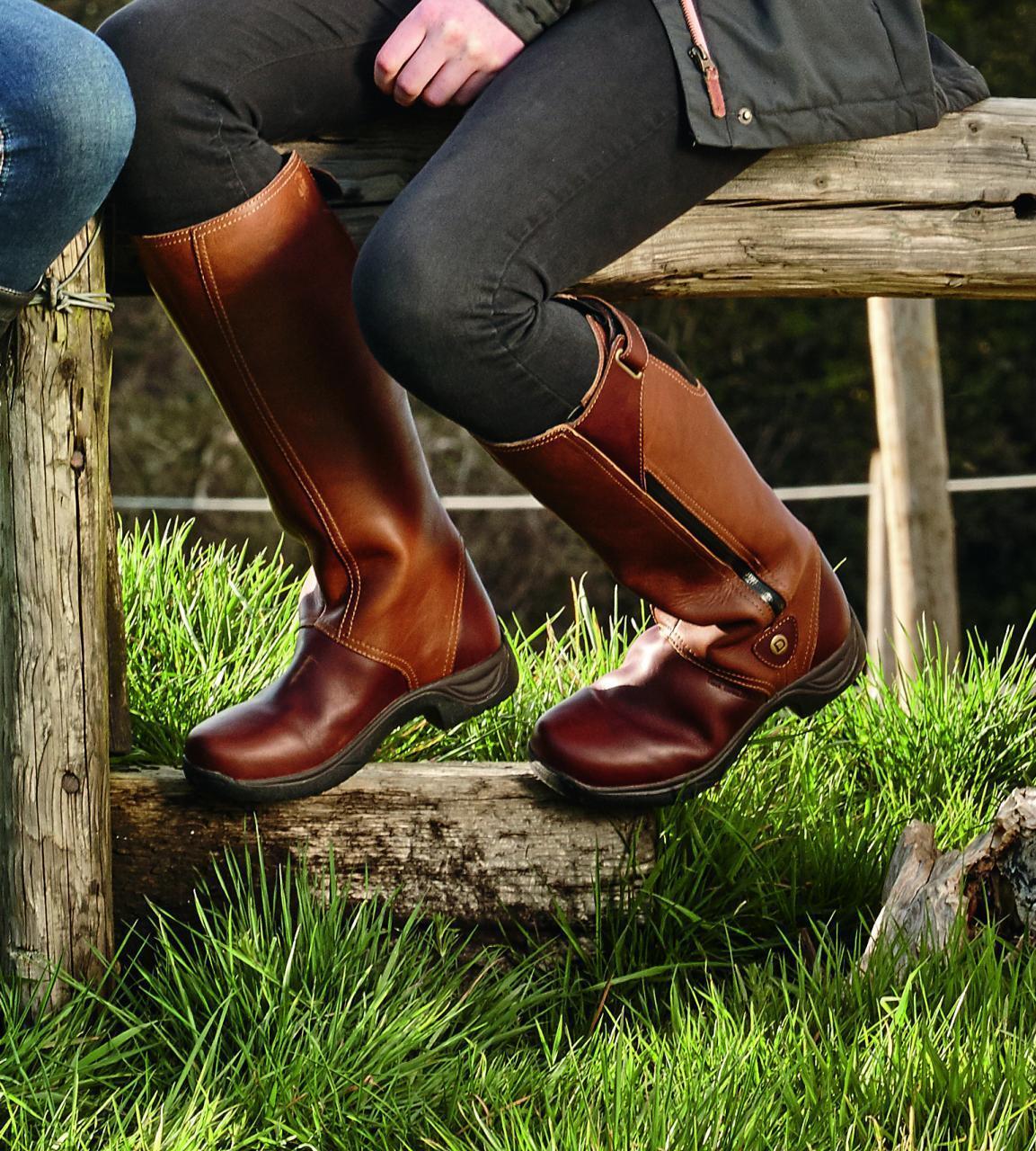 Dublin Wye Plena Flor Largo Del País  botas Montar Piel Impermeable Mundial Envío  Web oficial