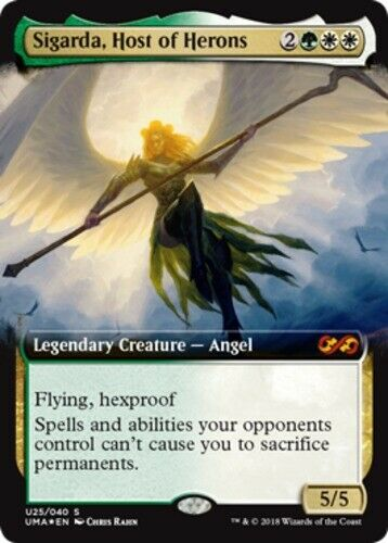 X1 Sigarda, Host of Herons - - - Foil MTG Ultimate Masters Box Toppers M M NM, Engli 56a529